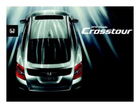 2012 Honda Crosstour Factsheet V2