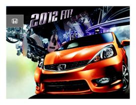 2012 Honda Fit Factsheet