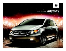 2012 Honda Odyssey Factsheet