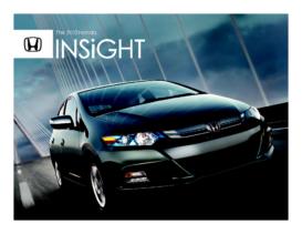 2012 Insight Hybrid Factsheet