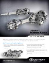 2019 Western Star Detroit Tandem Axle Spec Sheet