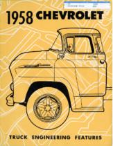 1958 Chevrolet Truck Engineering