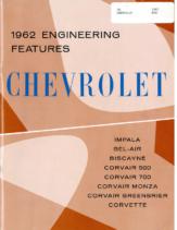 1962 Chevrolet Truck Engineering