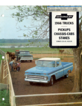 1966 Chevrolet Truck Chassis-Cabs