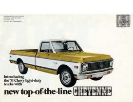 1971 Chevrolet Truck Cheyenne