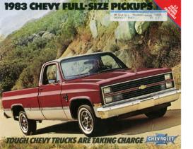 1983 Chevrolet Full Size Pickups