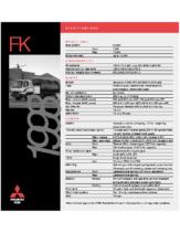 1998 Mitsubishi Fuso FK Specs