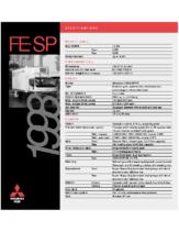 1998 Mitsubishi Fuso FM SP Specs