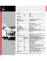 1999 Mitsubishi Fuso FK Specs