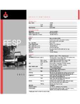 2000 Mitsubishi Fuso FE SP Specs