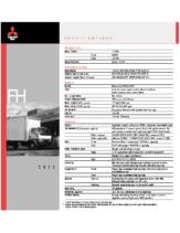 2000 Mitsubishi Fuso FH Specs