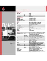 2000 Mitsubishi Fuso FM MR Specs