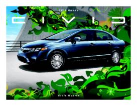2010 Honda Civic Hybrid Fact Sheet