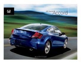 2011 Honda Accord Coupe Fact Sheet