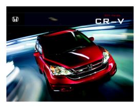 2011 Honda CR-V Fact Sheet