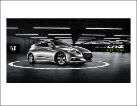 2011 Honda CR-Z Fact Sheet