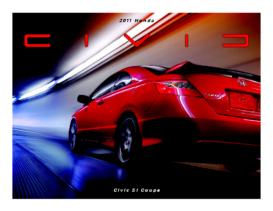 2011 Honda Civic SI Coupe Fact Sheet