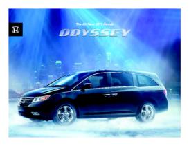 2011 Honda Odyssey Fact Sheet