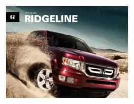 2011 Honda Ridgeline Fact Sheet