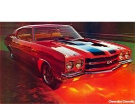 1970 Chevrolet Chevell Dealer Sheet