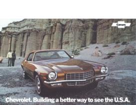 1972 Chevrolet Camaro Dealer Sheet
