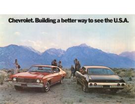 1972 Chevrolet Chevelle Postcard
