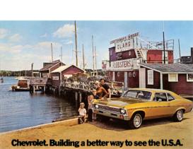 1972 Chevrolet Nova Postcard