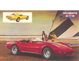 1973 Chevrolet Corvette Dealer Sheet