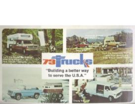 1973 Chevrolet Trucks Postcard