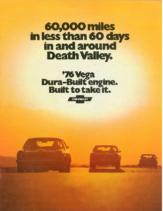 1976 Chevrolet Vega at Death Valley Booklet