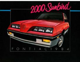 1984 Pontiac 2000 Sunbird CN