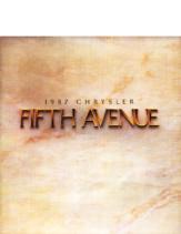 1987 Chrysler Fifth Avenue