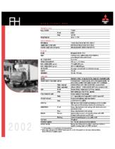 2002 Mitsubishi Fuso FH
