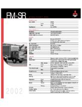 2002 Mitsubishi Fuso FM-SR