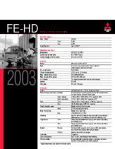 2003 Mitsubishi Fuso FE-HD