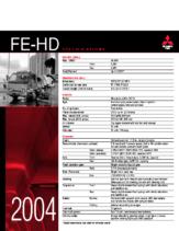 2004 Mitsubishi Fuso FE-HD Specs
