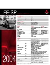 2004 Mitsubishi Fuso FE-SP Specs