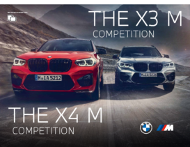 2020 BMW X3M-X4M Competition