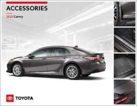 2020 Toyota Camry Accessories