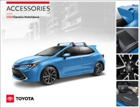 2020 Toyota Corolla Hatchback Accessories