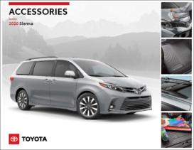 2020 Toyota Sienna Accessories