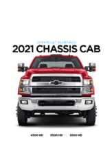2021 Chevrolet Chassis Cab