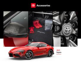 2021 Toyota Supra Accessories