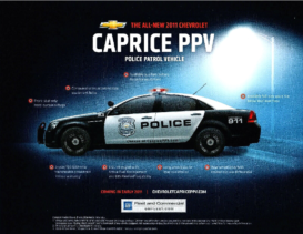 2011 Chevrolet Police Package