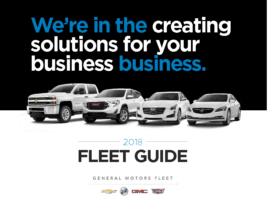 2018 GM Fleet Guide