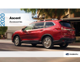 2020 Subaru Ascent Accessories