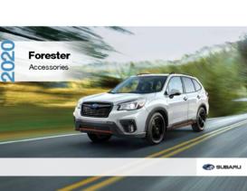 2020 Subaru Forester Accesories