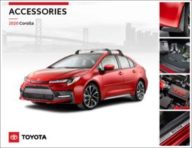 2020 Toyota Corolla Accessories