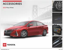 2020 Toyota Prius Prime Accessories