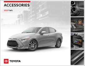 2020 Toyota Yaris Accessories